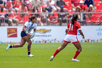USA Men vs Guyana during the Rugby Seven matches at the Toronto 2015 Pan Am Games.