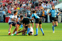 USA Men vs Uruguay in the Bronze Medal Match during the Rugby Seven matches at the Toronto 2015 Pan Am Games.