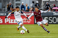 Colorado Rapids vs Real Salt Lake MLS (Major League Soccer) game at Dick's Sporting Goods Park.