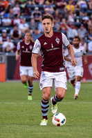 Colorado Rapids vs the Chicago Fire MLS (Major League Soccer) game at Dick's Sporting Goods Park.Final score of the game was Colorado Rapids - 2 and the Chicago Fire - 1.