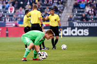 The MLS Western Conference soccer game between the Colorado Rapids and Sporting Kansas City at Dick's Sporting Goods Park in Commerce City, Colorado on May 27, 2017.Final score of the game was the Col