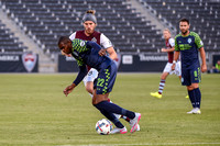 The 2017 Lamar Hunt U.S. Open Cup game between the Colorado Rapids (MLS) and the Oklahoma City Energy FC of the United Soccer League (USL) at Dick's Sporting Goods Park in Commerce City, Colorado. Fin