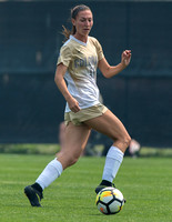 The NCAA Women's Soccer game between the University of Colorado Buffaloes (CU) and the Brigham Young University Cougars at Prentup Field in Boulder, Colorado.Final score of the game was CU Buffaloes -