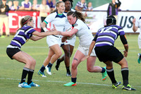 USA Rugby 2014 Collegiate Naitonals Women's D! Semi-Final Penn State vs West Chester