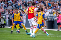 Colorado Rapids, of the MLS, vs Arsenal FC, of the English Premier League, in an international friendly soccer game at Dick's Sporting Good Park in Commerce City, CO. USA. on July 15, 2019.