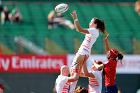 HSBC World Rugby Women's Sevens Series: England vs. Spain