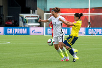 2015.06.22 Soccer - International - Womens USA v Colombia