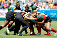 2015.06.13 Rugby 7s Womens Mexico v Bahamas