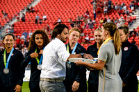 Rugby 7s W USA Silver Medal Ceremony