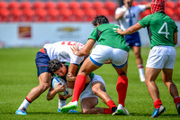 USA vs Mexico during the opening rounds of the Rugby Seven matches at the Toronto 2015 Pan Am Games.