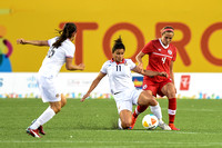 Canada vs Costa Rica Women's First Round- Group B - Match  Soccer match at the 2015 Pan Am Games.