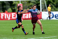 Philadelphia Rugby and Hawaii Lady Harlequins