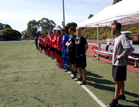 Cal State East Bay Pioneers mens soccer v SF State Gators