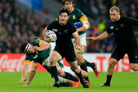 Rugby World Cup 2015 Semi Finals: New Zealand All Blacks vs. Sou
