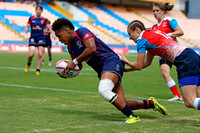 HSBC World Rugby Women's Sevens Series S‹o Paulo: USA vs. Russia