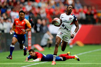 HSBC World Rugby Sevens World Series Canada: USA vs. France