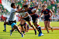 HSBC World Rugby Women's Sevens Series: USA vs. Fiji