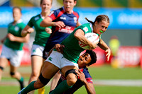 HSBC World Rugby Women's Sevens Series: USA vs. Ireland