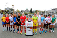 2015-16 HSBC World Rugby WomenÕs Sevens Series Langford: World Rugby Captain's Photo