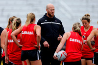 2015-16 HSBC World Rugby Women's Sevens Series Langford: Canada Women's Sevens Captain's Run