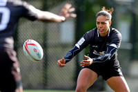2015-16 HSBC World Rugby WomenÕs Sevens Series Langford: Fiji Women's Sevens Training Session