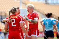 2015-16 HSBC World Rugby WomenÕs Sevens Series Atlanta: Canada Women's Sevens against Russia