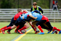 2015-16 HSBC World Rugby WomenÕs Sevens Series Atlanta: Russia Women's Sevens training session
