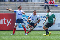The Pacific Rugby Premiership Championship game between the Glendale Raptors and the San Francsisco Golden Gate Rhinos at Infinity Park in Glendale, Colorado, USA.Final score of the game was The Glend