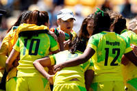 2015-16 HSBC World Rugby Women's Sevens Series Atlanta Cup Quater Finals: Australia Women's Sevens vs. USA