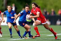 2015-16 HSBC World Rugby Women's Sevens Series Langford Cup Quarter Finals: Canada Women's Sevens vs. France