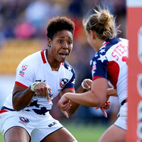 2015-16 HSBC World Rugby WomenÕs Sevens Series Atlanta: USA Women's Sevens Eagles vs. Japan