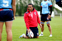 HSBC World Rugby Women's Sevens Series Clermont Ferrand: USA Women's Eagles Sevens Training Session