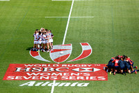 2015-16 HSBC World Rugby Women's Sevens Series Atlanta: USA Women's Sevens Eagles vs. Spain