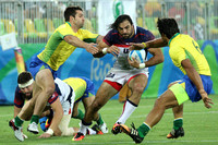 2016.08.10 Men's Rugby 7s Olympics USA vs. Brazil