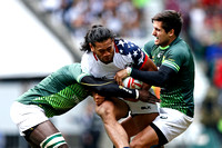 HSBC World Rugby Sevens World Series London: USA Men's Sevens Ea
