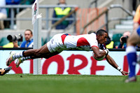 HSBC World Rugby Sevens World Series London Cup Quarter Finals: