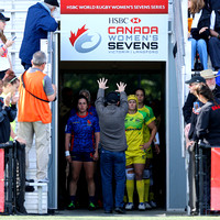 2015-16 HSBC World Rugby Women's Sevens Series Langford Cup Quarter Finals: Australia Women's Sevens vs. Spain