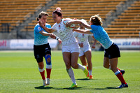 2015-16 HSBC World Rugby Women's Sevens Series Atlanta Cup Quater Finals: England Women's Sevens vs. Russia