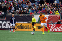MLS Regular Season game between the New England Revolution vs. Houston Dynamo