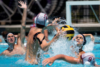 16U Stanford B vs Carlsbad during the 2017 USA Water Polo Junior