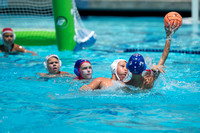 10U Newport Beach vs 680 during the 2017 USA Water Polo Junior O
