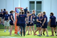 USA Women's Eagles Captain's Run