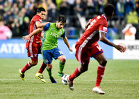 MLS Western Conference Semifinal match between the FC Dallas at the Seattle Sounders FC
