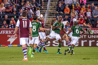 The Colorado Rapids vs the Portland Timbers in an  MLS (Major League Soccer) game at Dick's Sporting Goods Park. Final score of the game was Colorado Rapids - 1 and Portland Timbers - 0.