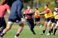 USA Men's Eagles 15s training session