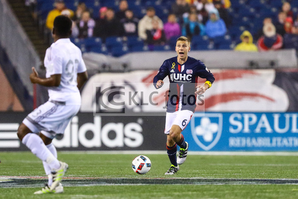 MLS match between Sporting Kansas City and the New England Revolution