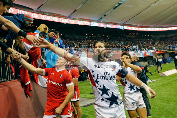 HSBC World Rugby Sevens World Series Canada Plate Final: USA vs. Samoa