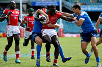 HSBC World Rugby Sevens Series Sydney Challenge Trophy Quarter Finals: Kenya vs. Russia