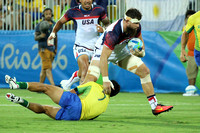 Rio 2016 Olympic Games Men's Rugby Sevens: USA Men's Eagles Sevens vs. Brazil