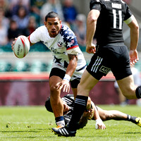 HSBC World Rugby Sevens World Series London Cup Quarter Finals: USA Men's Sevens Eagles vs. New Zealand